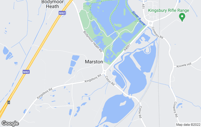 Map for J Roberts (SPV) Limited, Marston