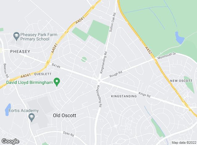 Map for Dixons, Kingstanding