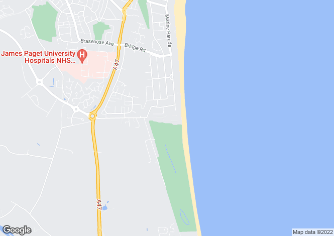 Map for Cliff Lane, Gorleston, Great Yarmouth