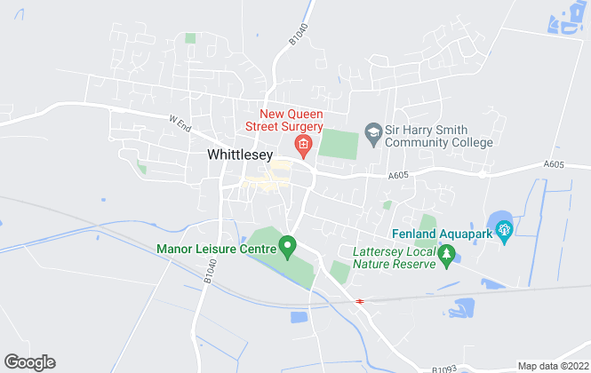 Map for Harrison Rose Estate Agents, Whittlesey