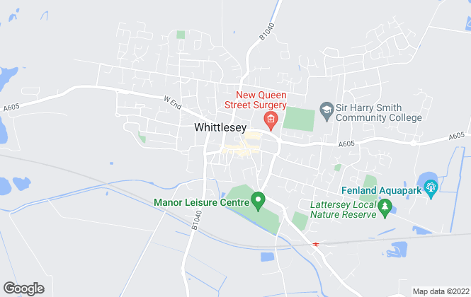 Map for Sharman Quinney, Whittlesey