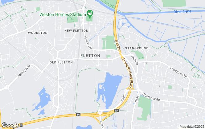 Map for Deedsproperty.com, Peterborough