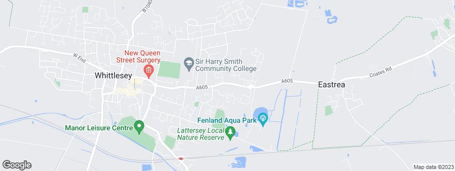 Map for Larkfleet Homes