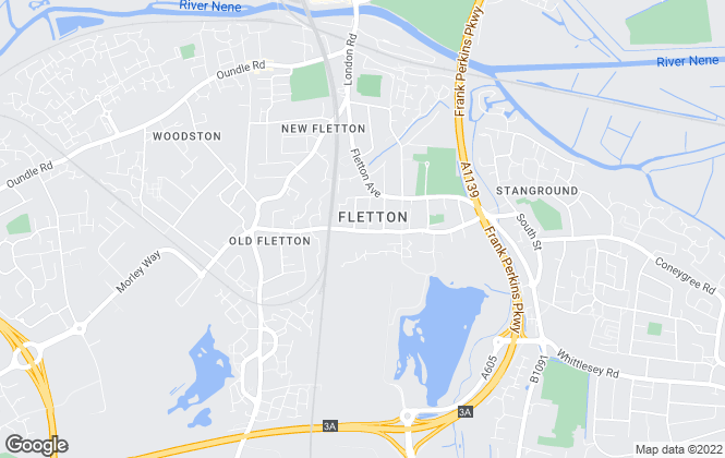 Map for William H. Brown, Fletton