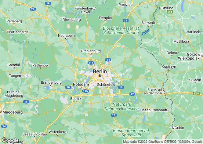 Map for 10707, Berlin, Wilmersdorf, Germany