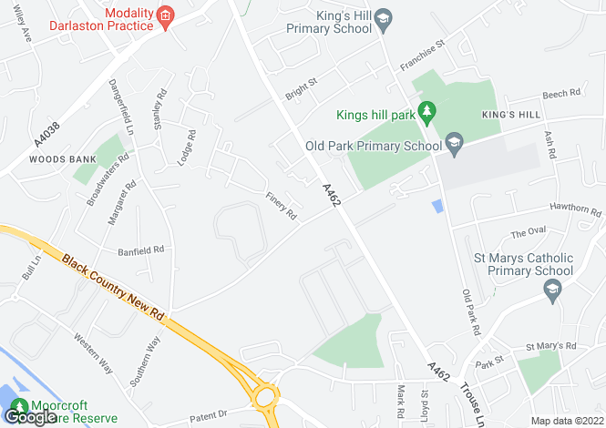 Map for The Tidbrook at Satchwell Grange, Woden Road West,