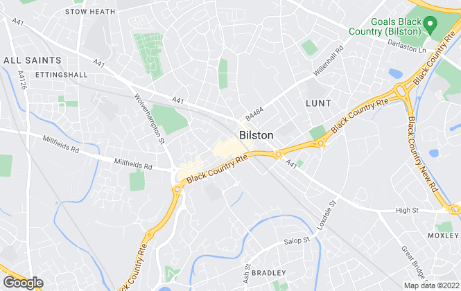 Map for Skitts Estate Agents, Bilston