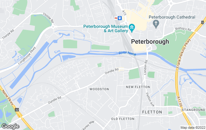 Map for Cookes Property Management, Peterborough