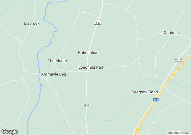 Map for West Meadows, Boherlahan, Co Tipperary