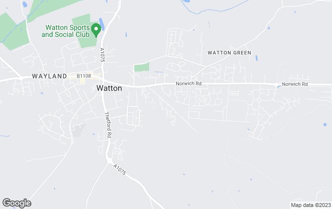 Map for HGW Properties, Norfolk