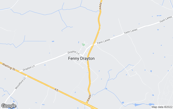 Map for Abbey Money, Fenny Drayton