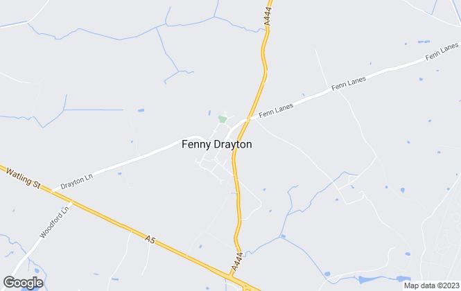 Map for Abbey Money, Fenny Drayton