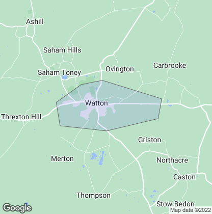 Map of property in Watton