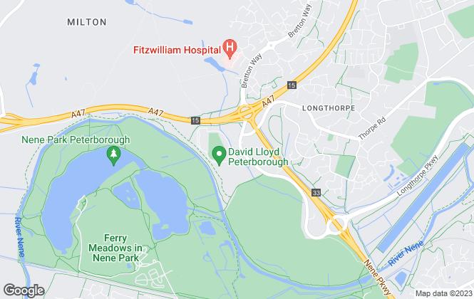Map for Adepto Homes Ltd, Peterborough