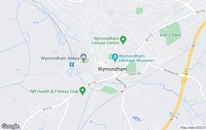 Map for Abbotts, Wymondham