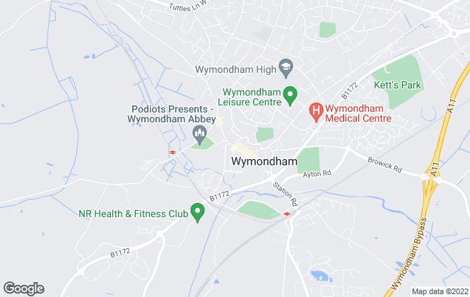 Map for Moneyproperties, Wymondham