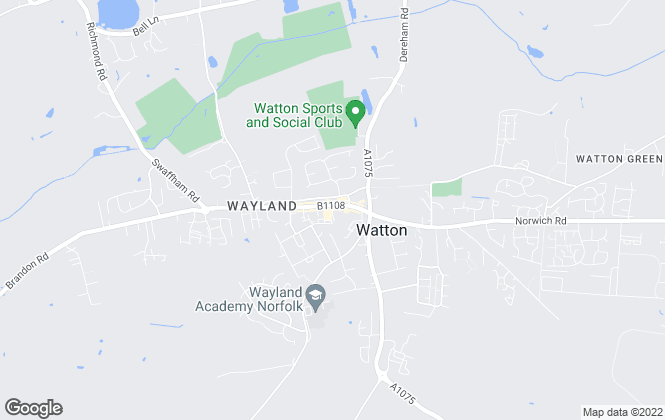 Map for William H. Brown, Watton