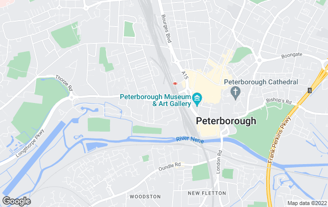 Map for Eddisons Commercial Limited, Peterborough