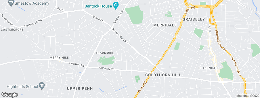 Map for Tatton Hall Homes (Bradmore)