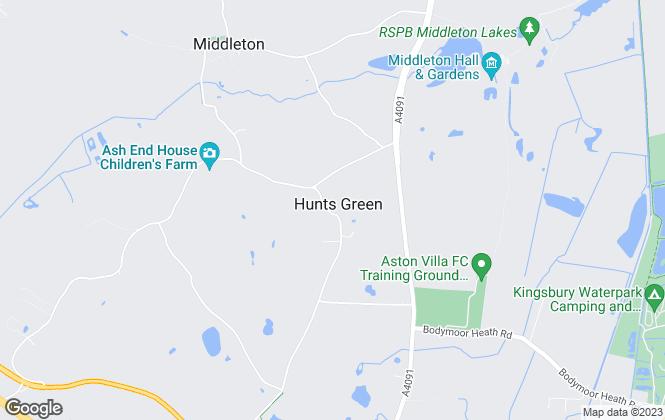 Map for Hazelwoods, Middleton - Lettings