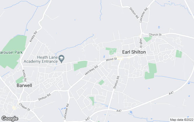 Map for Avant Homes Midlands