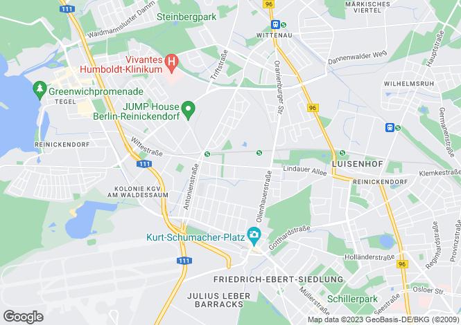 Map for Siedelmeisterweg 4, Berlin, Reinickendorf (Berlin), Germany
