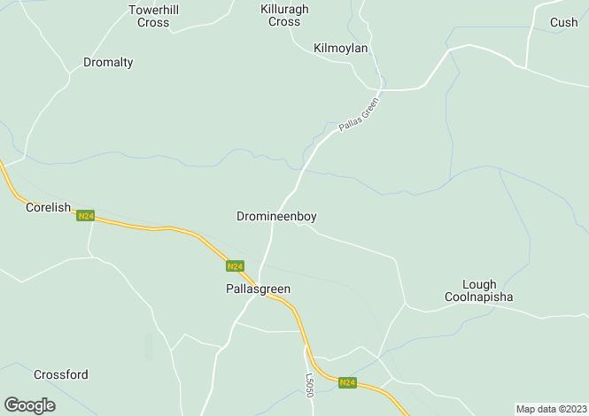 Map for Sunville House, Pallasgreen, Co. Limerick