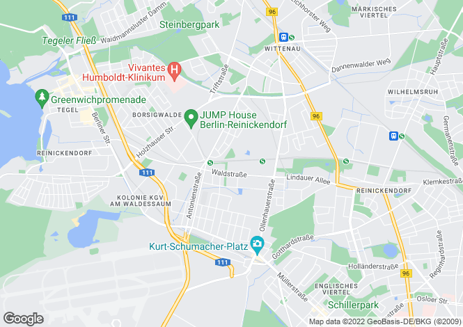 Map for Siedelmeisterweg 28, Berlin, Reinickendorf (Berlin), Germany