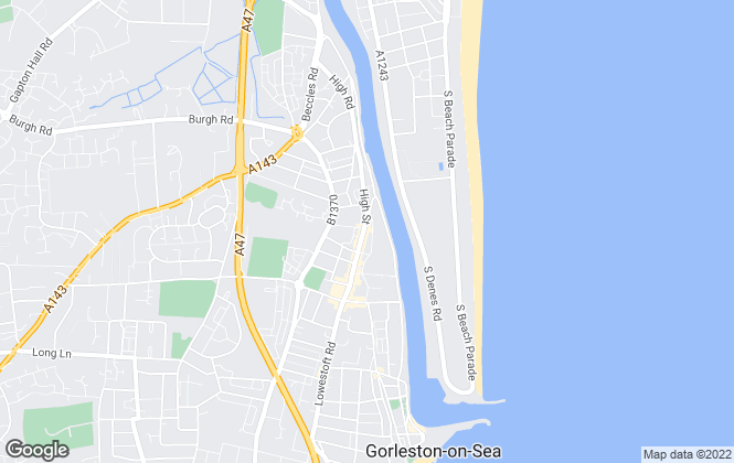 Map for Hunters, Gorleston