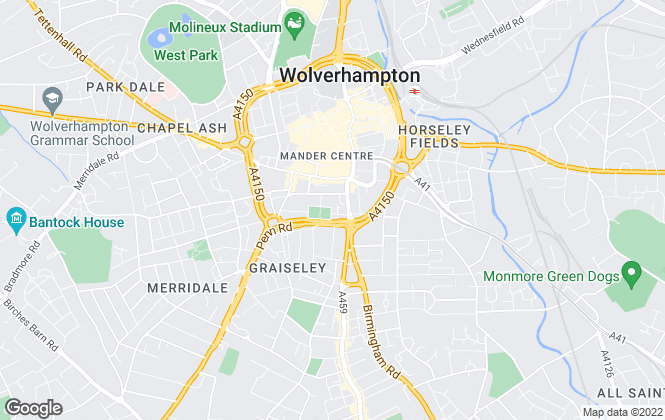 Map for Utopia Commercial, Wolverhampton