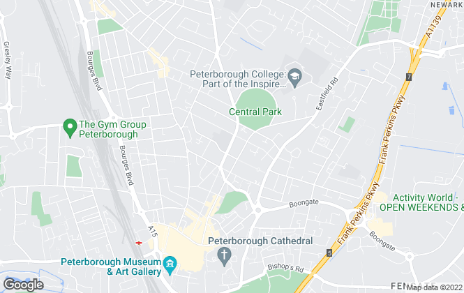 Map for Kenneally Property Services, Peterborough