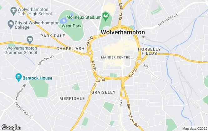 Map for Ross & Clark 2016 Ltd, Wolverhampton
