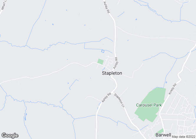 Map for Dadlington Lane, Stapleton, Leicestershire