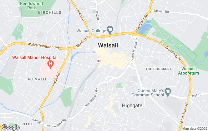 Map for Globe Property Limited, Walsall