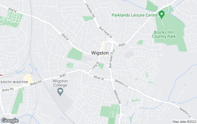 Map for Aston & Co, Wigston