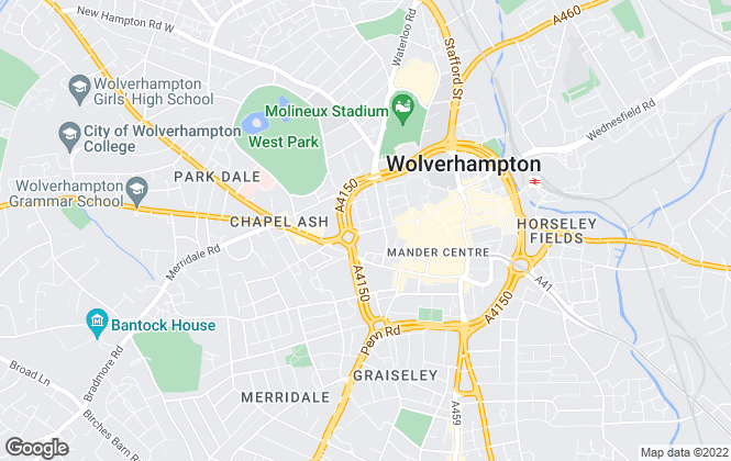 Map for Proactive Property, Wolverhampton