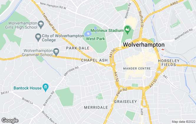 Map for Concentric , Wolverhampton