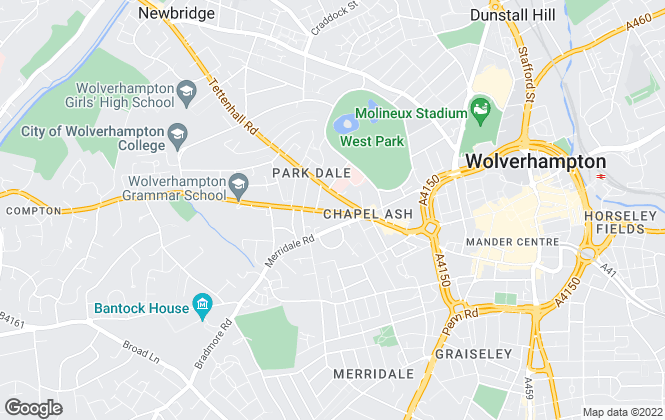 Map for Manders Estates Ltd, Wolverhampton