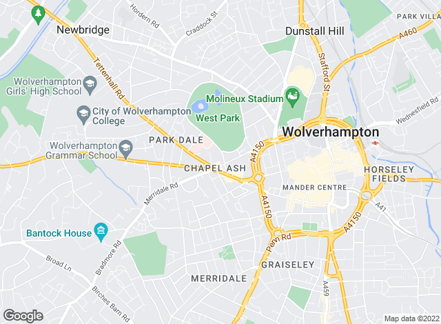 Map for Concentric, Wolverhampton