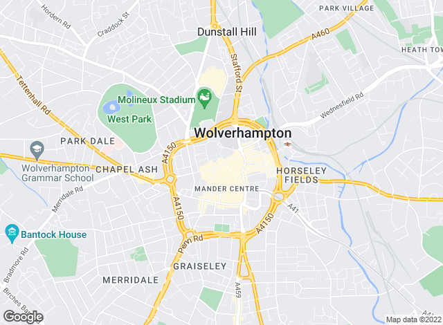 Map for Goodchilds Estate Agents and Lettings Ltd, Wolverhampton