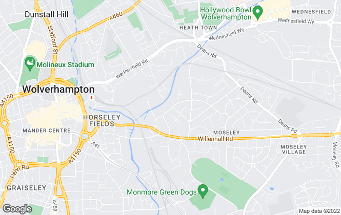 Map for JPM Holdings, Wolverhamton