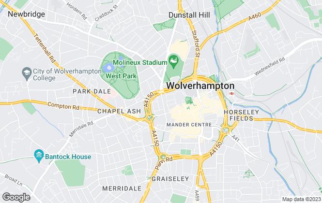 Map for Martin & Co, Wolverhampton