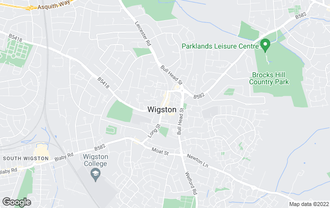 Map for Harrison Murray, Wigston