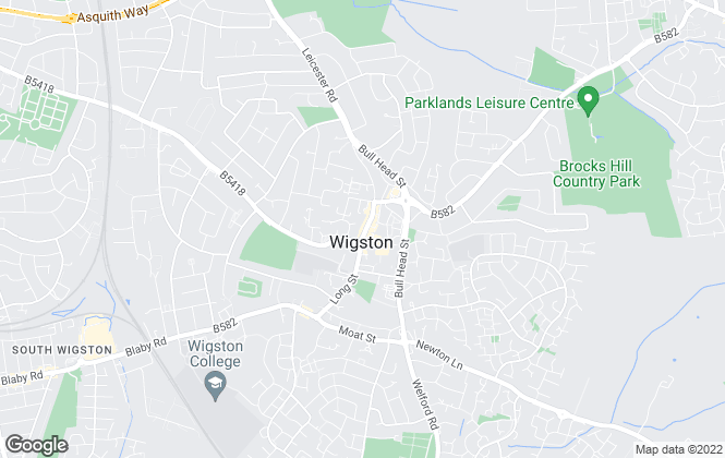 Map for Knightsbridge Estate Agents & Valuers, Wigston