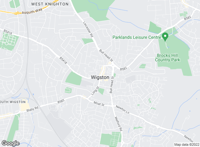 Map for Spencers Estate Agency, Wigston