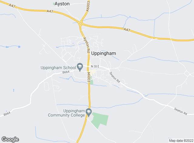 Map for Murray Estate Agents & Chartered Surveyors., Uppingham