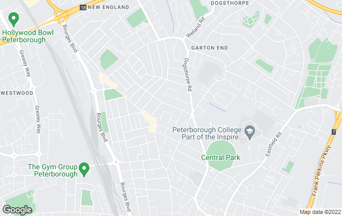 Map for PropertyLine, Peterborough