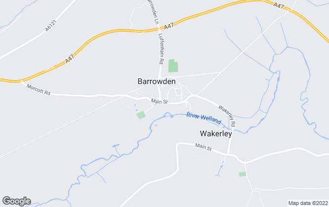 Map for Bettles Property, Barrowden