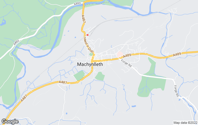Map for Morris Marshall & Poole, Machynlleth