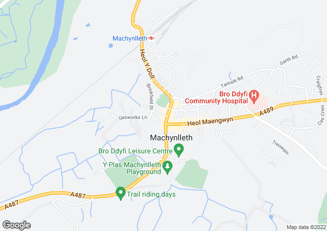 Map for Compton House, 